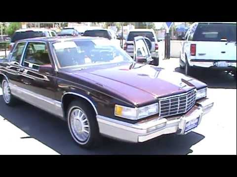 1991 CADILLAC DeVille Coupe 2D - YouTube