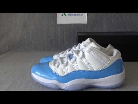 Authentic Air Jordan 11 Retro Columbia From kickshome.cn with free shipping