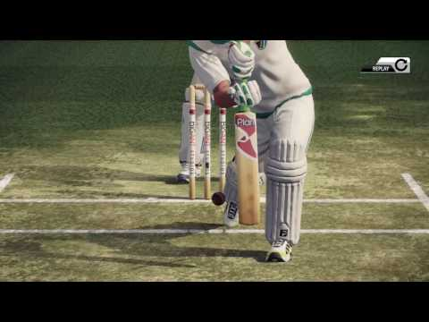 LBW Review in Big Ant's Don Bradman Cricket 14