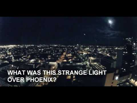 Phoenix lights back? UFO sighting or meteorite crash? 11/14/17