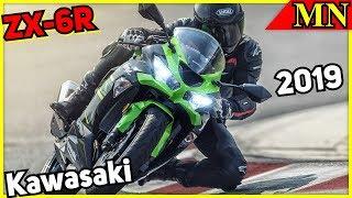 Kawasaki Ninja ZX-6R 2019 - Vorstellung - Daten - Leistung - Ausstattung | Motorrad Nachrichten