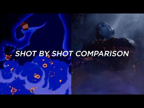 ALADDIN Trailer (1992 And 2019 Shot By Shot Comparison)