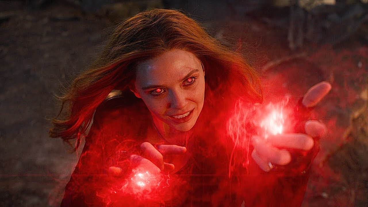 TOP 10 MOST POWERFUL SCARLET WITCH MOMENTS IN MCU | SuperHero Talks
