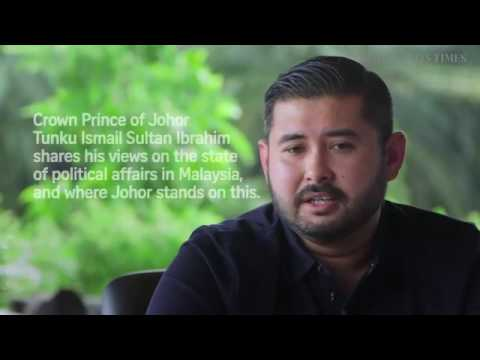Johor Crown Prince chat with Straits Times