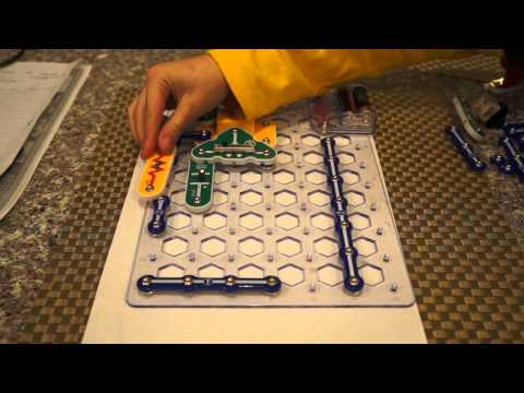 How to make  AM Radio from Electronic Snap Circuits Set