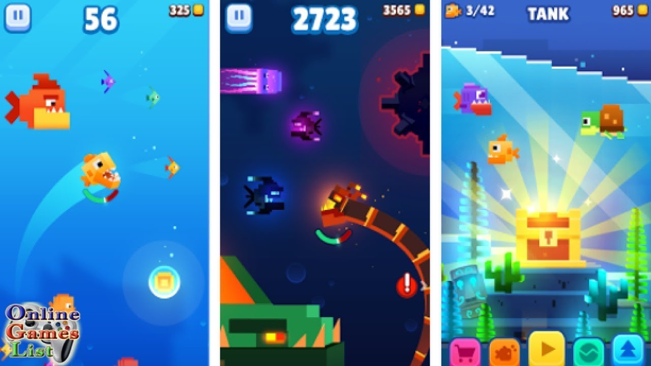 fishy bits 2 android ios gameplay hd youtube
