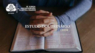 Lei e Evangelho - Uma distinção necessária I Pres. Cicero Pereira 18/03/2021