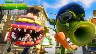 Plants vs Zombies Garden Warfare - Peashooter Vanquish Funny Montage