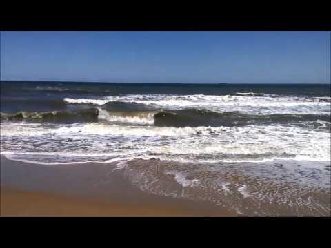Atlantic Ocean Waves At Virginia Beach 2016