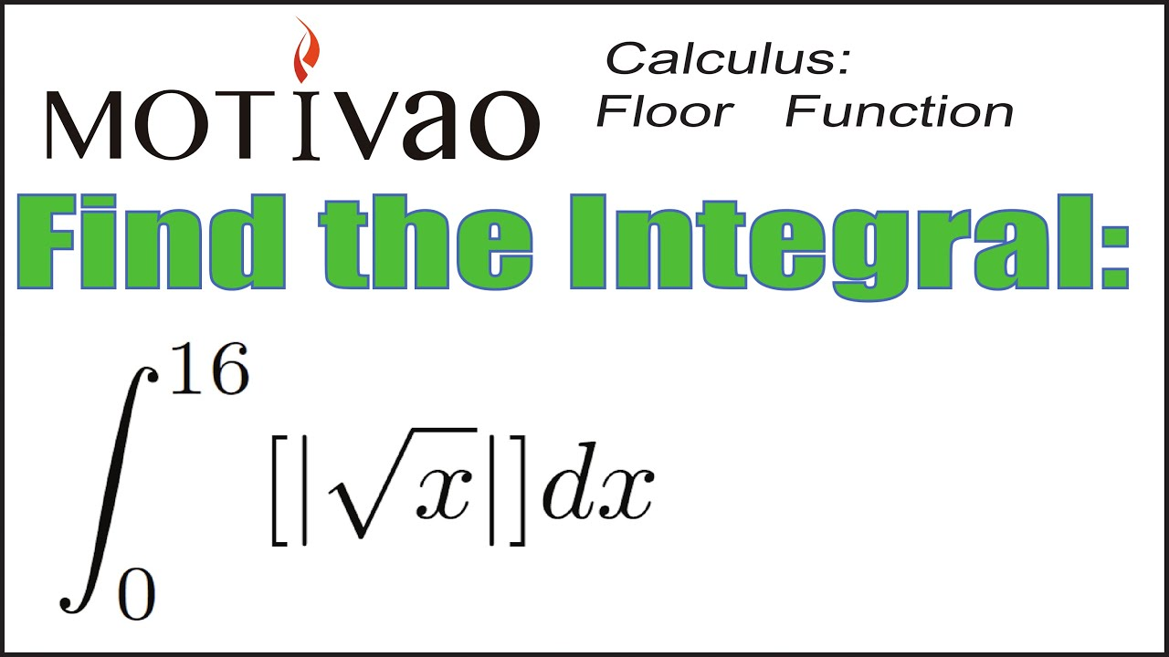 how to find the integral of a function