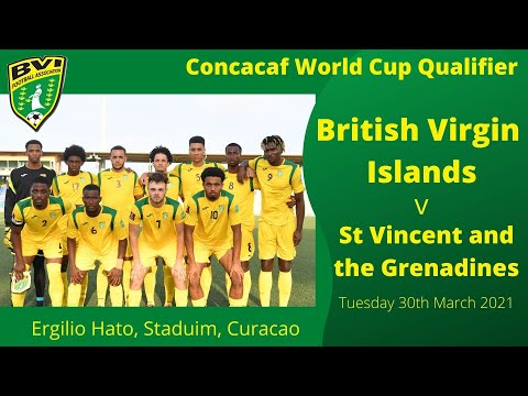 BVI v St Vincent and the Grenadines - CONCACAF WCQ, FIFA Qatar 2022