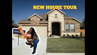 My Slightly Furnished House Tour | Plus Size Vlogs