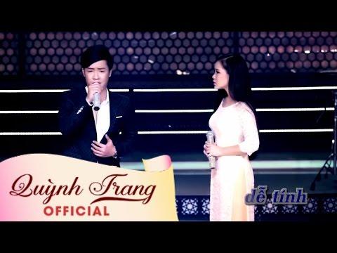 Quỳnh Trang  Ft Thiên Quang _ Karaoke LK Bạc Trắng Lửa Hồng
