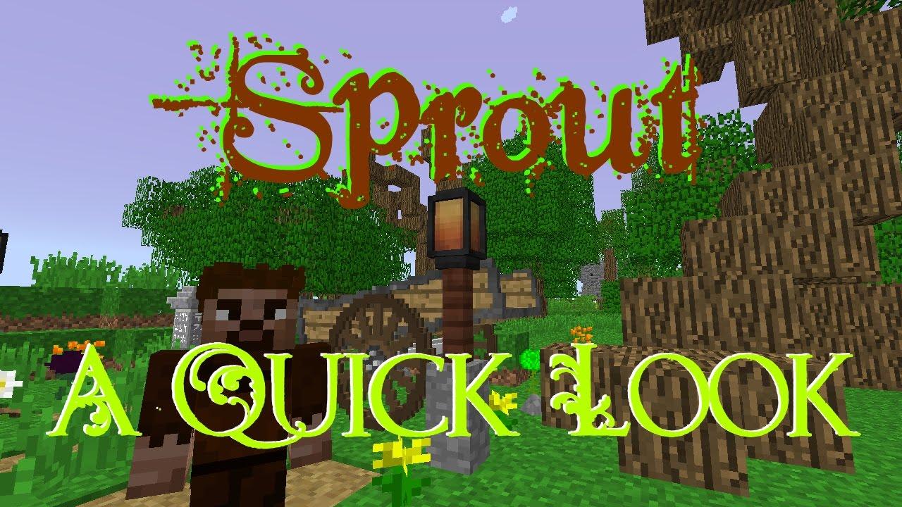 Sprout - Explore for More Server Hosting Rental | StickyPiston