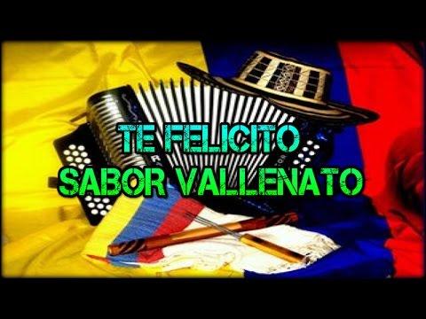 TE FELICITO - SABOR VALLENATO - MOYA DJ