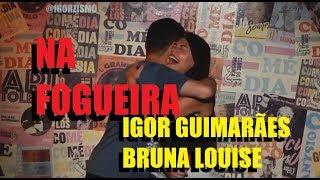 Igor Guimarães E Bruna Louise Na Fogueira