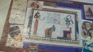Completed Egyptian Puzzle