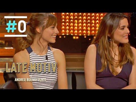 Late Motiv: Entrevista a Michelle Jenner y Adriana Ugarte #LateMotiv50 | #0