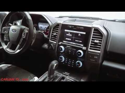 Ford F 150 RAPTOR 2017 INTERIOR Review Commercial CARJAM TV 4K 2015
