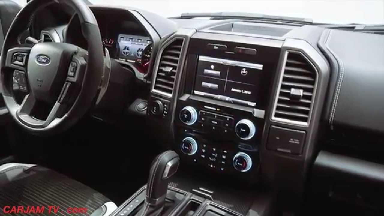 Ford F 150 RAPTOR 2017 INTERIOR Review Commercial CARJAM ...