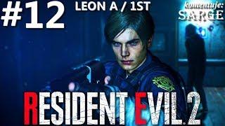 Zagrajmy w Resident Evil 2 Remake PL | Leon A | odc. 12 - Miotacz ognia | Hardcore