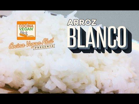 Arroz blanco  Cocina Vegan Fcil  YouTube
