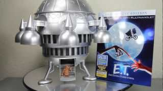 E.T. The Extra-Terrestrial Spaceship Blu-Ray 30th Anniversary Combo Pack Amazon Exclusive Review