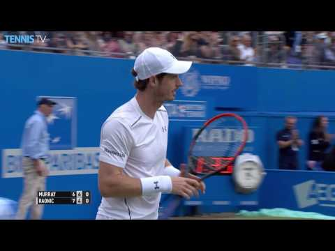 2016 Aegon Championships: Andy Murray v Milos Raonic Final Highlights