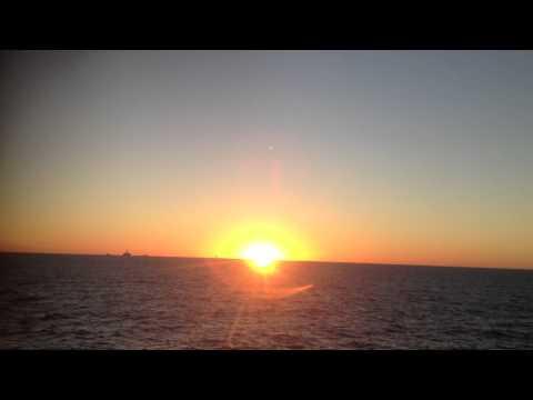 Sunrise on offshore.