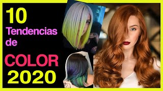 🎨10 TENDENCIAS DE COLOR 2020, Moda para tu Cabello