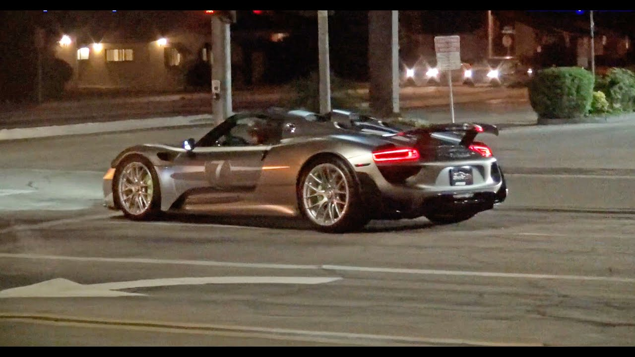 maxresdefault Elegant Porsche 918 Spyder Los Angeles Cars Trend