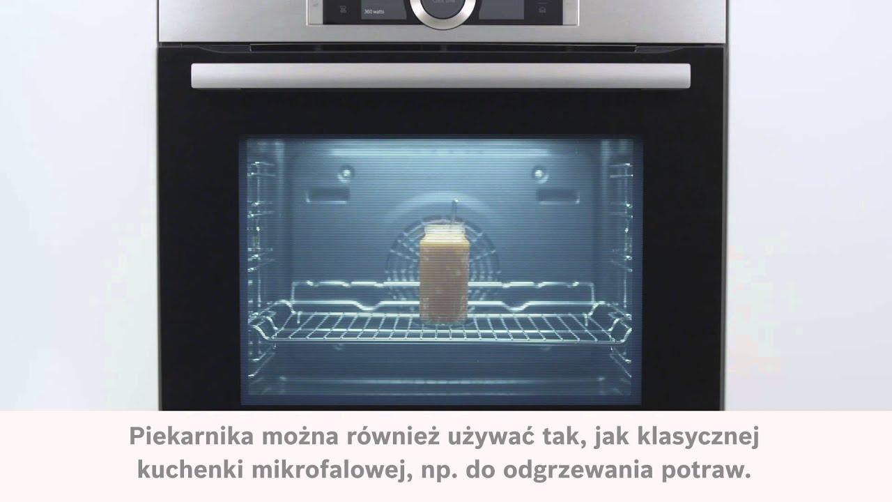 Super Piekarnik z funkcją mikrofali Bosch Serie | 8 - YouTube QH71