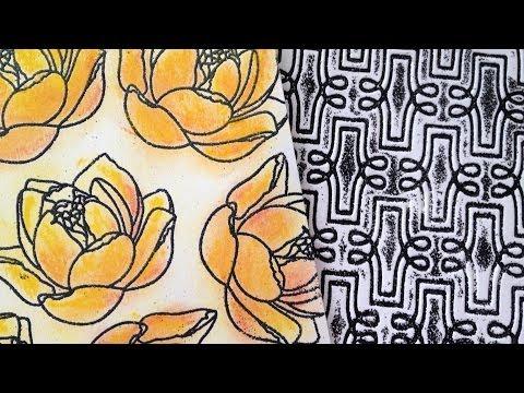 видео: Скрапбукинг: фоны своими руками (ч2) / the workshop