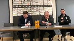 Lehdistötilaisuus Lahti Basketball - Salon Vilpas 7.3.2020