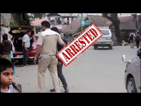 Darjeeling prankster got arrested -Drugs prank