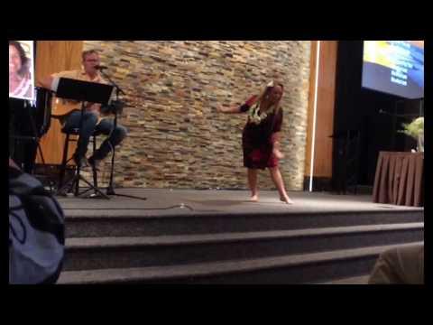"""""""Good Good Father"""", Hula Dance Worship at Ashland Christian Fellowship"""