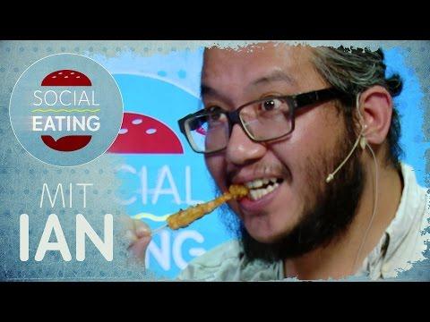 Asiatisches Essen testen