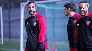 الدحيل يختتم تحضيراته للغرافة في نهائي كأس QSL وبنعطية ينضم للتدريبات