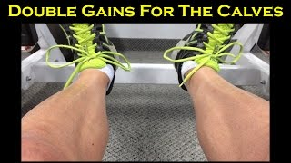 Intra-set Stretching For Stubborn Calves: Double The Muscle Gains