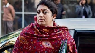Wont Tolerate Nations Insult Says Smriti Irani Over Protest at JNU