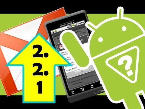 Android 2.2.1 Update - New Android Gmail And More