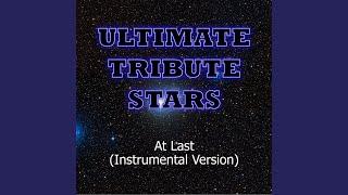 Etta James - At Last (Instrumental Version)