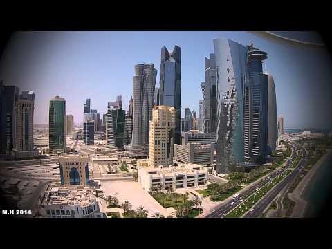 DJI Phantom 2 plus + Overlooking Doha