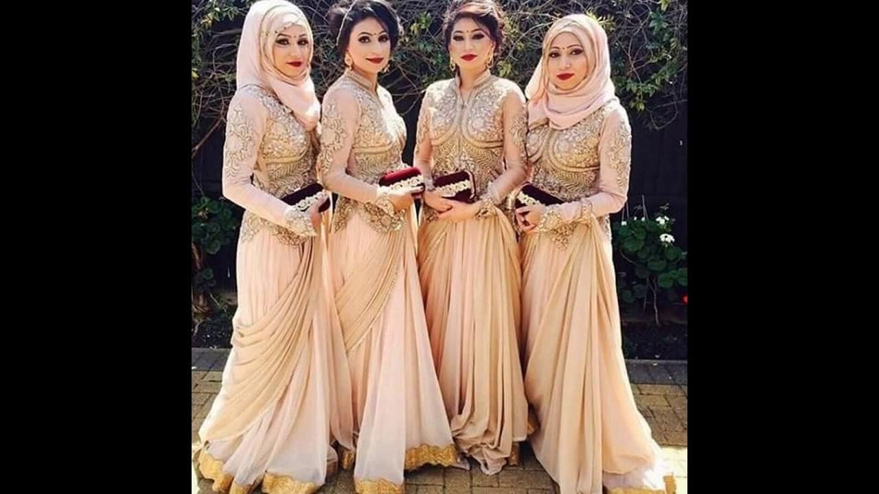 Model Baju Muslim Nikahan Terbaru
