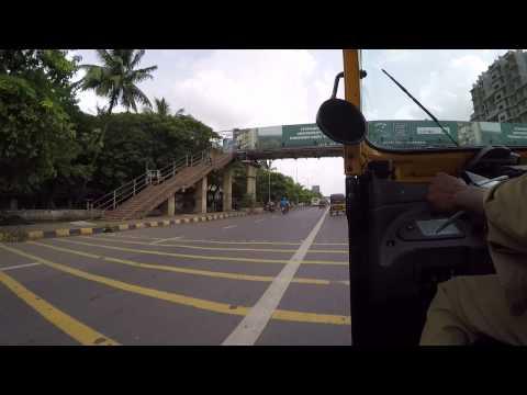 Mumbai Rickshaw Highway Ride