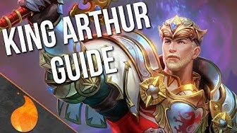 Smite Guides: HOW TO PLAY KING ARTHUR