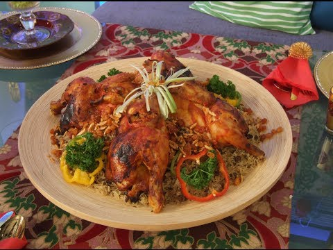 اوزي الدجاج - مطبخ منال العالم