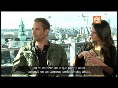 Cinescape Entrevista Paul Walker Rápidos Y Furiosos 6 2505
