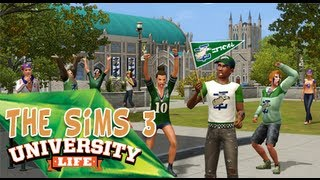 The Sims 3 University Life - Montage/Review