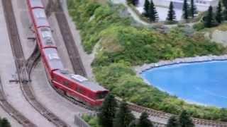 第6回京急鉄道フェア 巨大ジオラマ Nゲージ走行シーン集